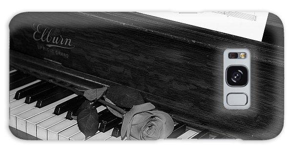 Piano Rose Galaxy Case