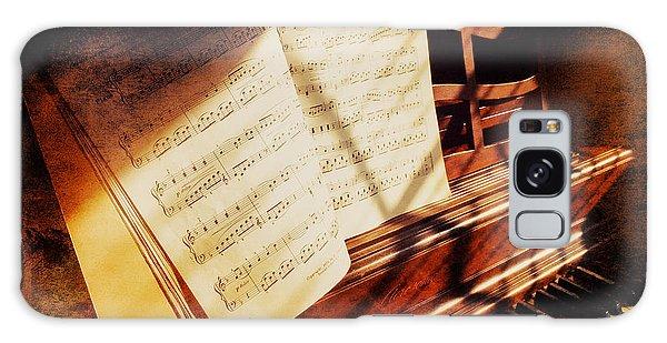 Piano Sheet Music Galaxy Case