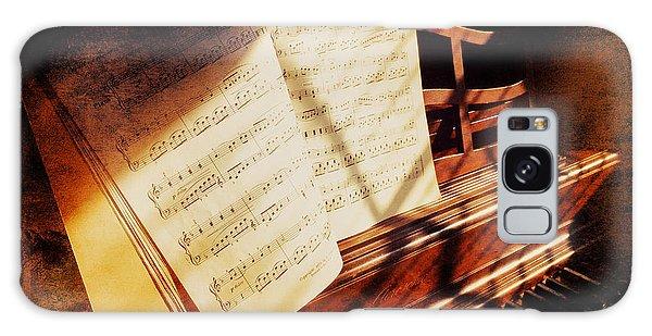 Piano Sheet Music Galaxy Case by Eleanor Abramson
