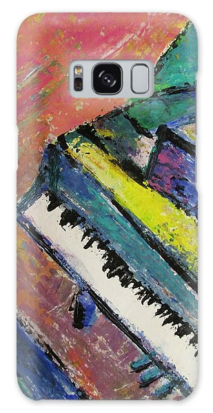 Piano With Yellow Galaxy Case