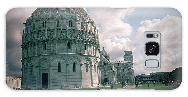 Piazza In Piza Galaxy Case