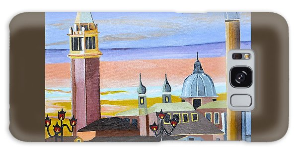 Piazza San Marco Galaxy Case by Donna Blossom