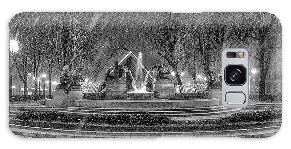 Piazza Solferino In Winter-1 Galaxy Case by Sonny Marcyan