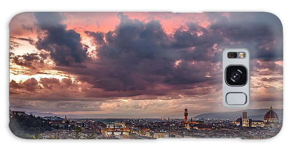 Piazzale Michelangelo Galaxy Case by Giuseppe Torre