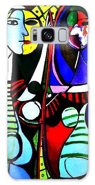 Picasso - El Espejo Original Galaxy Case