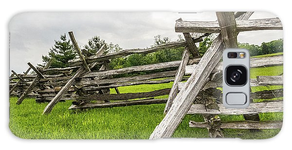 Galaxy Case featuring the photograph Picket Fence by SR Green