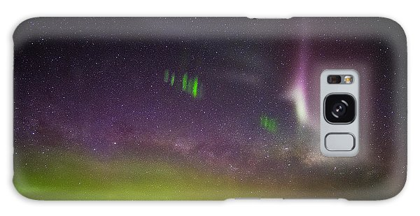 Picket Fences And Proton Arc, Aurora Australis Galaxy Case