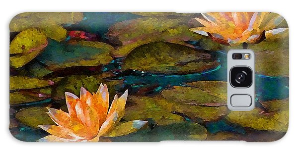Picnic By The Pond Galaxy Case by John  Kolenberg