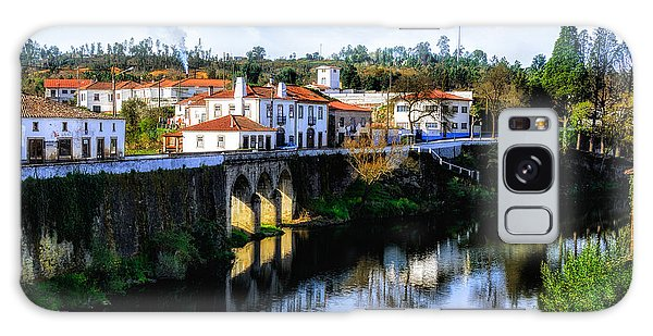 Picture Perfect Portuguese Village Galaxy Case