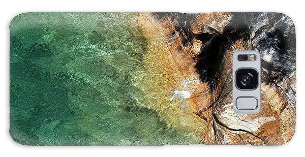 Galaxy Case featuring the photograph Pictured Rocks by Kenneth Campbell