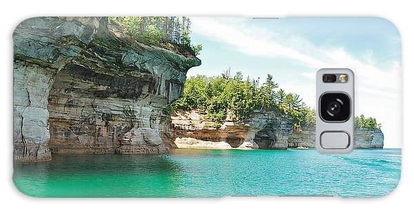 Pictured Rocks Galaxy Case by Michael Peychich