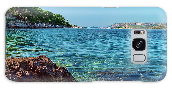 Picturesque Croatia Offers Tourists Pristine Beaches Of The Adriatic, Surrounded By Pine Trees And R Galaxy Case