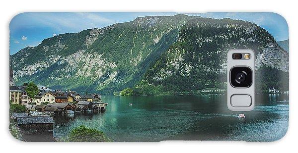 Picturesque Hallstatt Village Galaxy Case