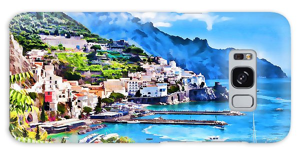 Picturesque Italy Series - Amalfi Galaxy Case