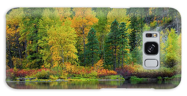 Picturesque Tumwater Canyon Galaxy Case by Dan Mihai