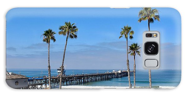 Pier And Palms Galaxy Case