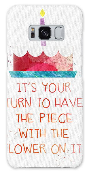 Celebration Galaxy Case - Piece Of Cake- Card by Linda Woods