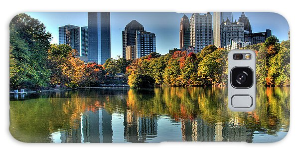 Clayton Galaxy Case - Piedmont Park Atlanta City View by Corky Willis Atlanta Photography