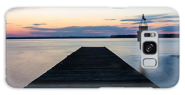 Pier At Sunset 16x20 Galaxy Case