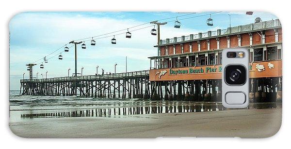 Pier Daytona Beach Galaxy Case by Carolyn Marshall