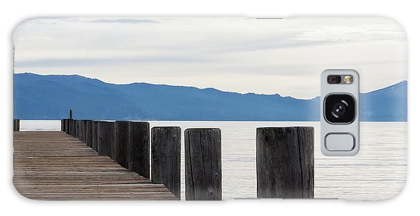 Galaxy Case featuring the photograph Pier On The Lake by Ana V Ramirez