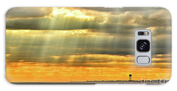 Pier Rays Galaxy Case