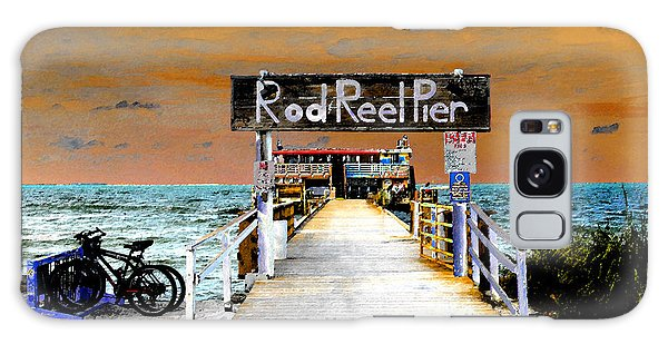 Old Florida Galaxy Case - Pier Scape by David Lee Thompson