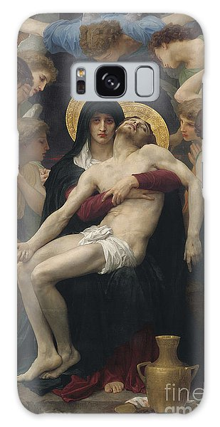 Angel Galaxy Case - Pieta by William-Adolphe Bouguereau