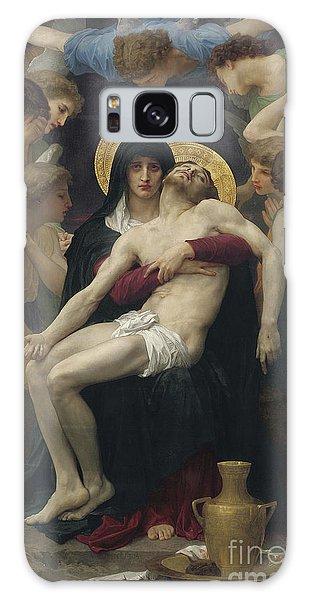Savior Galaxy Case - Pieta by William Adolphe Bouguereau