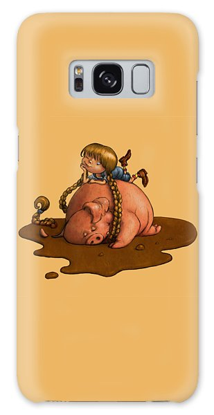 Pig Tales Galaxy Case