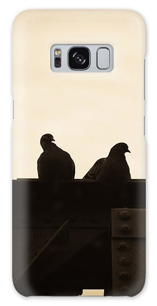 Pigeon Galaxy S8 Case - Pigeon And Steel by Bob Orsillo