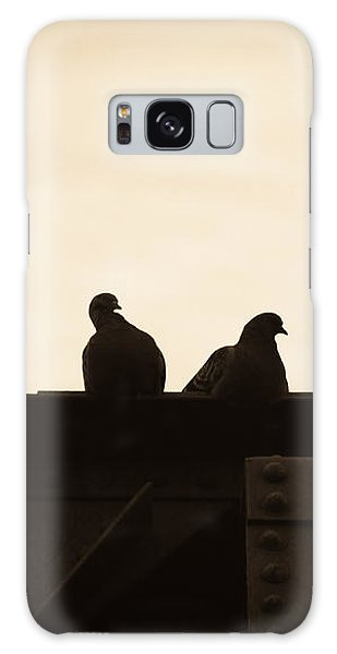 Symbolism Galaxy Case - Pigeon And Steel by Bob Orsillo