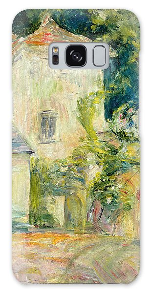 Pigeon Galaxy S8 Case - Pigeon Loft At The Chateau Du Mesnil by Berthe Morisot