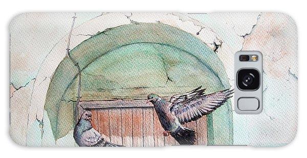 Pigeon Perch Galaxy Case