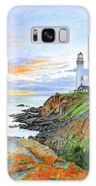 Pigeon Point Sunset Galaxy Case