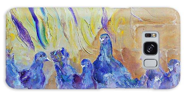 Pigeons Galaxy Case