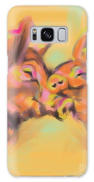 Piggy Love Galaxy Case by Go Van Kampen