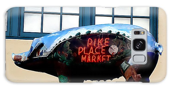 Pike Place Market Galaxy Case by Janice Spivey