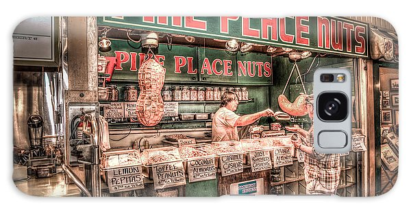 Pike Place Nuts Galaxy Case