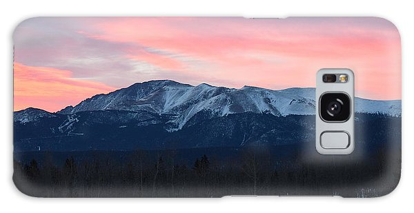 Sunrise Pikes Peak Co Galaxy Case