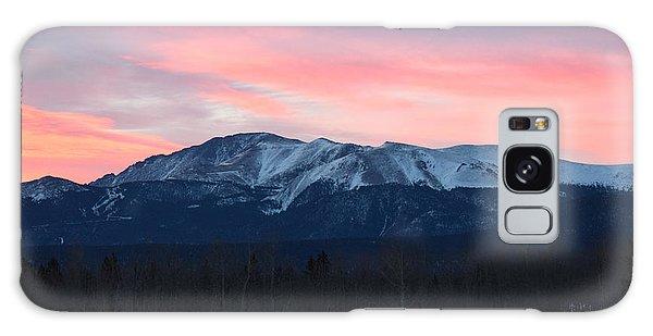 Sunrise Pikes Peak Co Galaxy Case