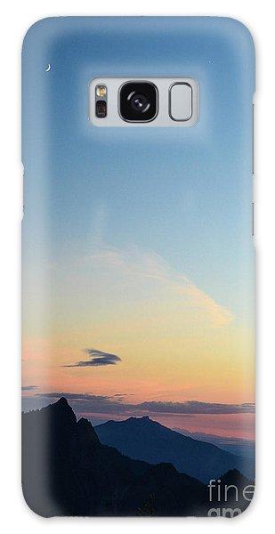 Pilchuck Sunset Galaxy Case