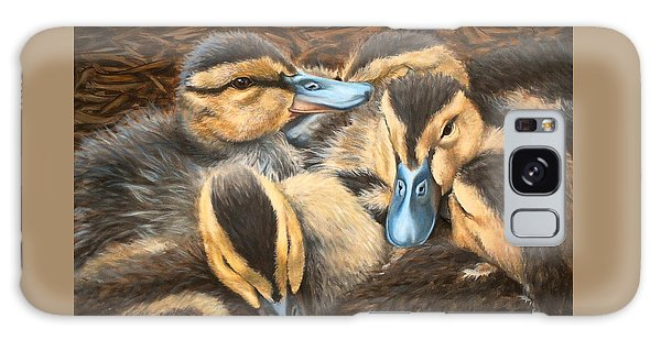 Pile O' Ducklings Galaxy Case