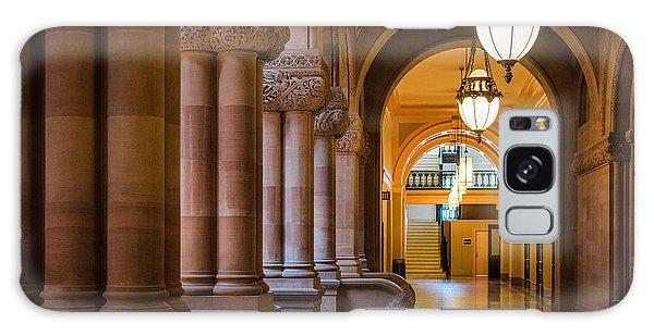 Pillar Hallway Galaxy Case