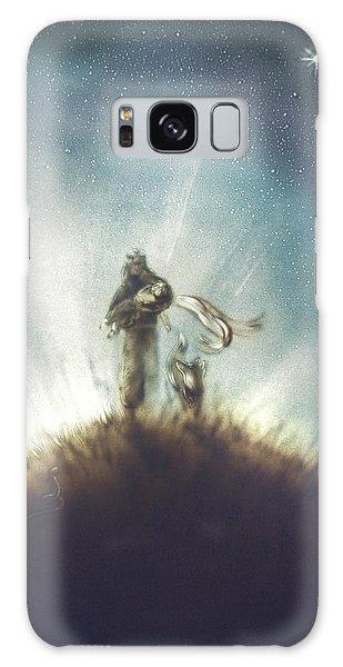 Pilot, Little Prince And Fox Galaxy Case by Elena Vedernikova