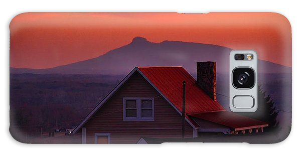 Pilot Sunset Overlook Galaxy Case by Kathryn Meyer