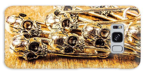 Voodoo Galaxy Case - Pin Head Skeleton Art by Jorgo Photography - Wall Art Gallery