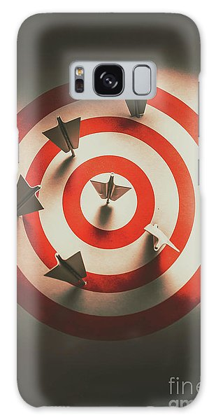 Airplanes Galaxy Case - Pin Point Your Target Audience by Jorgo Photography - Wall Art Gallery