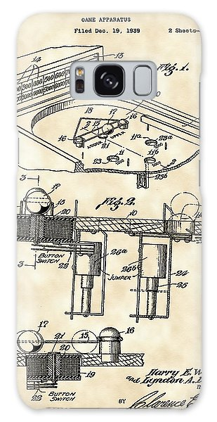 Pinball Machine Patent 1939 - Vintage Galaxy Case