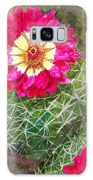 Pincushion Cactus Galaxy Case